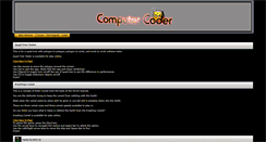 Preview of computercoder.org
